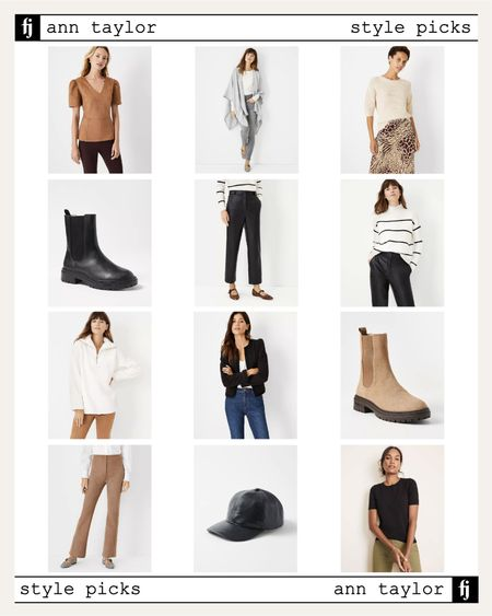 Love all these fall styles from Ann Taylor! #falloutfit #boots  #LTKstyletip #LTKunder100 #LTKunder50