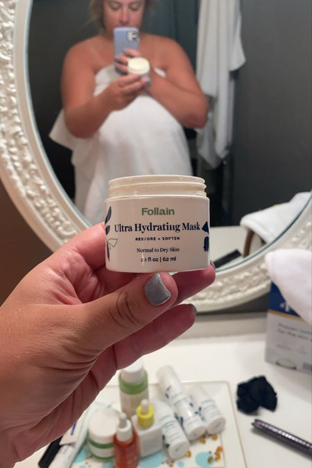 Follain is having a site wide sale 20% off — my most loved product is this hydrating mask, I wear it overnight. I also linked the other products I have from there.   #LTKsalealert #LTKbeauty