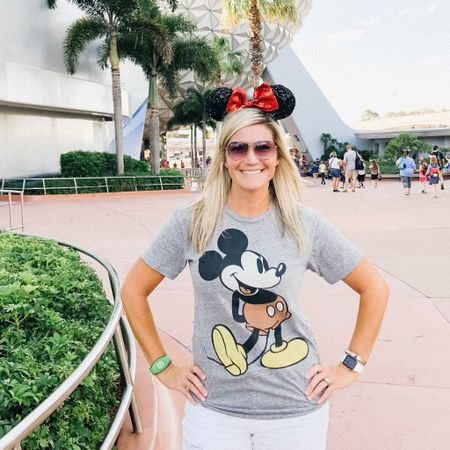 Classic Mickey shirt for $8? I'll take 2!  Wearing a small http://liketk.it/2CUtN @liketoknow.it #liketkit #disney #disneyworld #mickeymouse #epcot #disneystyle     Shop your screenshot of this pic with the LIKEtoKNOW.it app