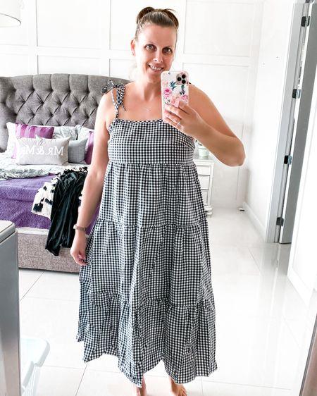 Summer dress  http://liketk.it/3fQSz @liketoknow.it #liketkit #LTKunder50 #LTKsalealert #shein #summerdress