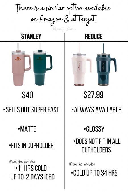 Amazon & Target Reduce tumbler vs Stanley …   #LTKsalealert #LTKhome #LTKGiftGuide