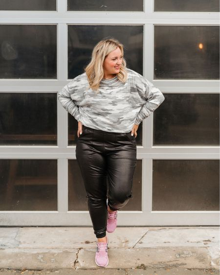 Spanx joggers that are a closet must have looks great athleasure and dressed up  Wearing a size large    #LTKstyletip #LTKcurves #LTKSeasonal