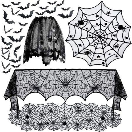Spider web Halloween decor   #LTKhome #LTKHoliday #LTKSeasonal