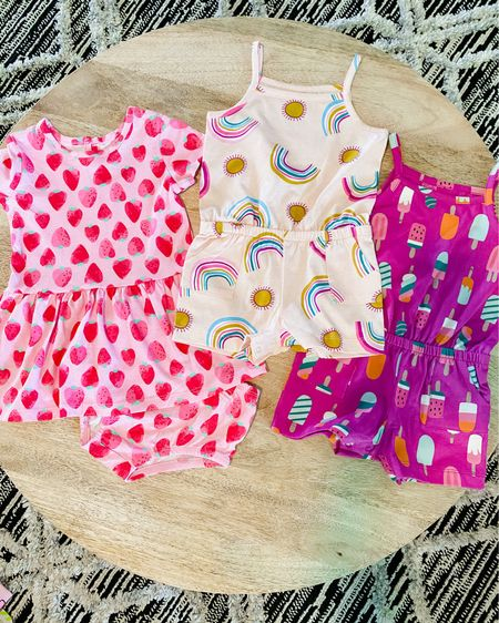 HOW CUTE are these rompers and dresses from Walmart! Can't wait to see Beckett wearing these cuties. http://liketk.it/3ewMF #liketkit @liketoknow.it #LTKbaby #LTKstyletip #LTKkids