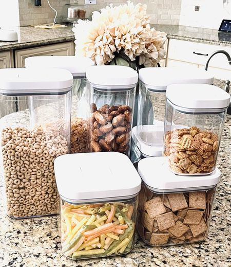 Adulting is when you're more excited about your OXO Food Storage Containers set than anything else! These storage containers are durable, washable, sleek, chic and keep food fresh for weeks!   #LTKGiftGuide #LTKfamily #LTKhome