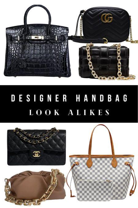 Designer handbag dupes and look alikes and alternatives!    #LTKsalealert #LTKitbag #LTKstyletip