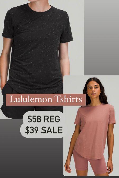 Lululemon love crew tshirts on sale!   #LTKfit #LTKunder50 #LTKsalealert