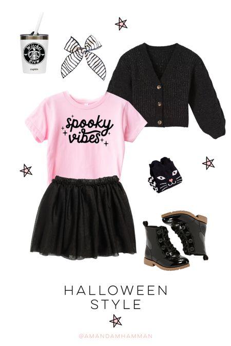 Halloween, kids, girls, tutu, tshirt, sweater, boots  #LTKkids #LTKfamily #LTKSeasonal