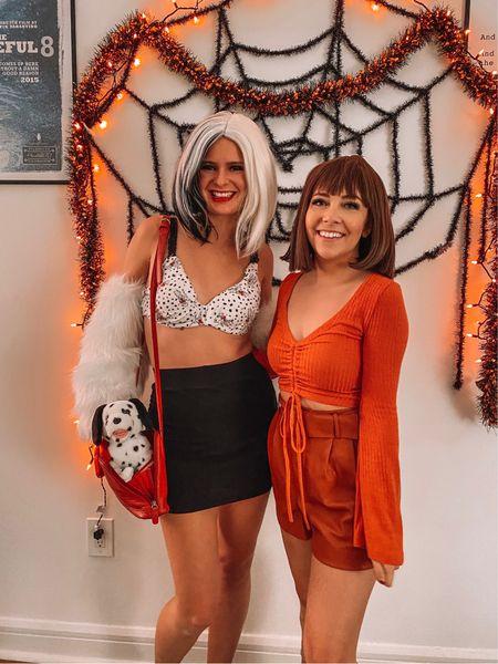 Halloween costume ideas: Velma, pirate, Disney princess, vampire, 1920s mobster! Full details on thedaintydetails.com  #LTKunder100 #LTKSeasonal #LTKHoliday