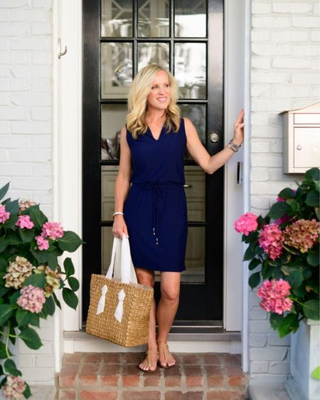 This is a fabulous cover up to casual dress style you will love! Pair it with a great rattan bag and stylish sandals! Get this look and more details when you follow me at www.aliciawoodlifestyle.com.   #LTKstyletip #LTKitbag #LTKSeasonal