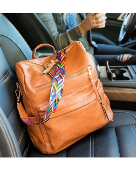 Diaper bag / leather backpack linked http://liketk.it/3fRiJ #liketkit @liketoknow.it