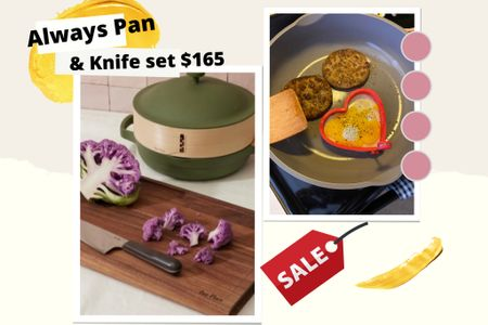 http://liketk.it/3hm3z #liketkit @liketoknow.it #LTKsalealert #LTKhome #LTKfamily  Always Pan sale!  I will always rave about this pan; the best non stick to date. I haven't had an issue yet! & all the meals I make with it come out superb 👌🏼  Get the always pan and the everyday chefs knife for only $165 😆 use code: TWOFAVES to receive your discount.  The pan and knife come in different colors.  The color I have is Spice.   Also linked up a few other Our place items that I am loving! Not on sale, but still worth the price tag. Their plates and bowls are truly so unique and quality for sure. 🙌🏼