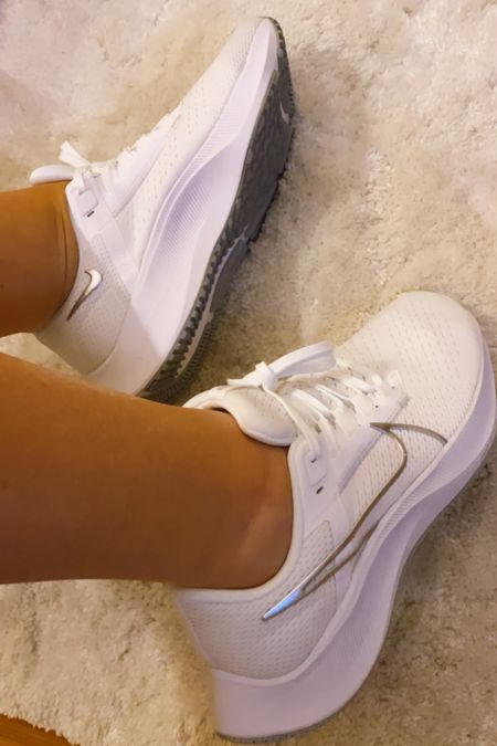 New white sneakers always make me feel amazing in summer! And shows off my fabulous tan!  #LTKshoecrush #LTKSeasonal #LTKunder100