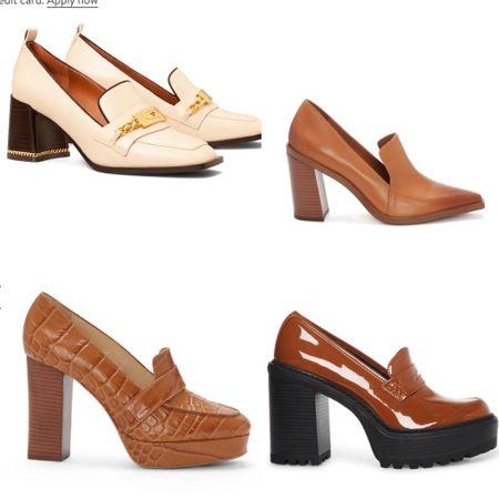 Loafers with a heel? Sign me up!!!  #LTKSeasonal #LTKstyletip #LTKshoecrush