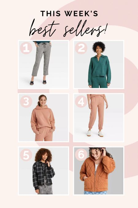 All our most loved styles from the last seven days! Some are on sale!  #bestsellers #targetstyle #targetdeals