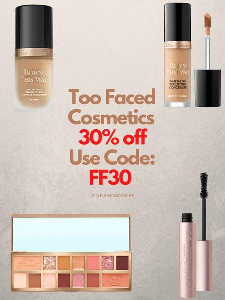 Too Faced Cosmetics Memorial Day Weekend Sale!   30% off Sitewide!   Use Code: FF30   #LTKunder100 #LTKbeauty #LTKsalealert