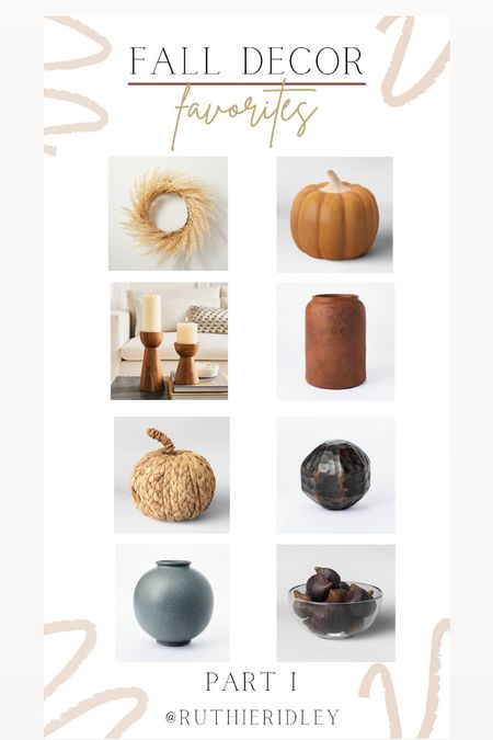 My fall decor favorites!! 🍁  #LTKSeasonal #LTKhome