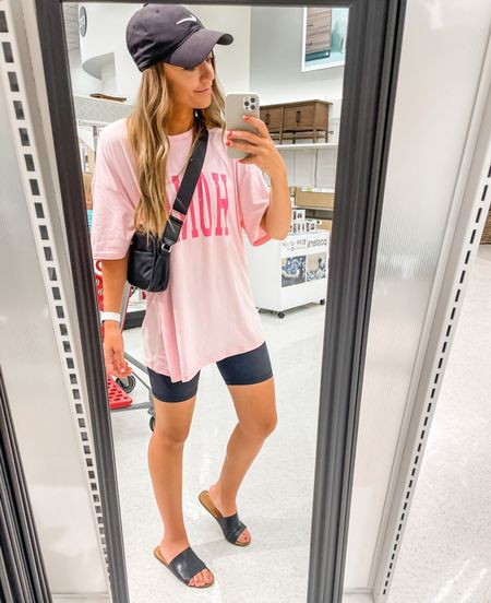 My outfit today🤍 This tee is only $12! Im wearing a medium!   #LTKsalealert #LTKfamily #LTKbeauty
