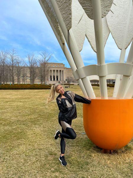 You badminton you!🏸   Yoga set linked: http://liketk.it/3bjDj   @liketoknow.it  #Shuttlecock #NelsonAtkins #ArtMuseum #KansasCity #MissKansasCityUSA #MissKansas #VanbrosGirls #RoadToMissUSA #liketkit