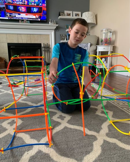 This was an Easter gift and he loves it.  These building straw kits are a lot of fun.  And the kids get to express their creativity.  http://liketk.it/3cQlt #liketkit @liketoknow.it Download the LIKEtoKNOW.it shopping app to shop this pic via screenshot