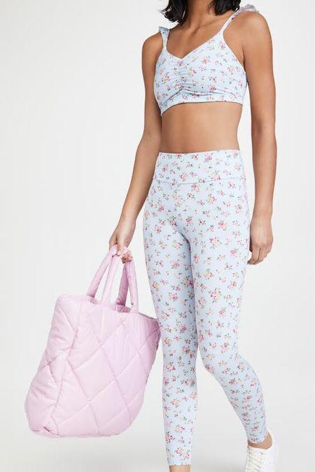 Cutest floral activewear set on sale 🌸🌿✨ http://liketk.it/3f3Lv #liketkit @liketoknow.it #LTKunder50 #LTKsalealert #LTKfit