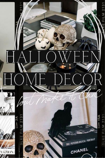 Chic Halloween home decor ideas   #LTKhome #LTKSeasonal