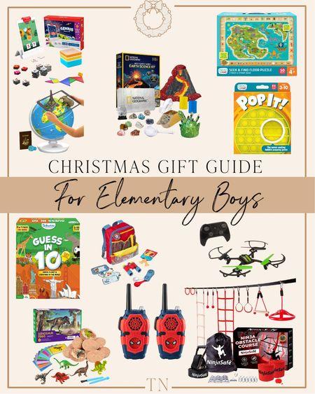 Gift guide for the elementary boy   #LTKkids #LTKGiftGuide #LTKHoliday