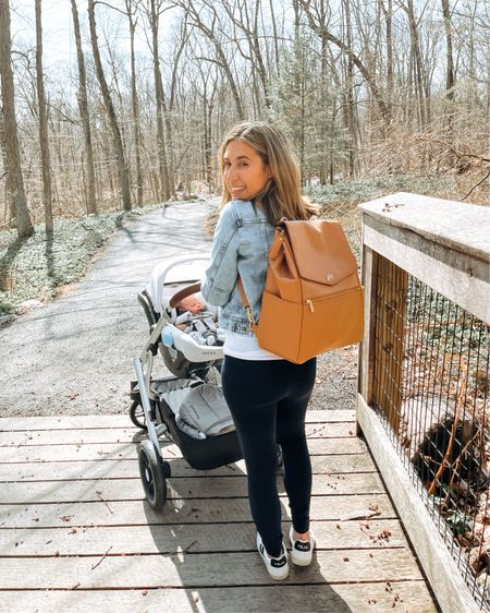 Soaking up each moment & loving for these daily walks with my little guy!  Found the BEST diaper bag/backpack - love the color, tons of handy compartments, & portable changing mat.  Screenshot any of my pics to shop in the @liketoknow.it app & give me a follow! http://liketk.it/3bm0k #liketkit http://liketk.it/3bm0k @liketoknow.it.family #LTKbaby #LTKfamily #LTKfit