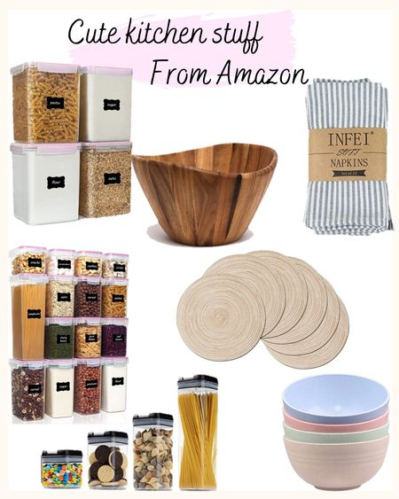 Shop cute, http://liketk.it/3fqcP and affordable kitchen and pantry items from Amazon. These containers are perfect for creating a clean and Instagram worthy pantry. 😍 @liketoknow.it #liketkit #LTKunder50 #LTKhome @liketoknow.it.home Download the LIKEtoKNOW.it app to shop this pic via screenshot