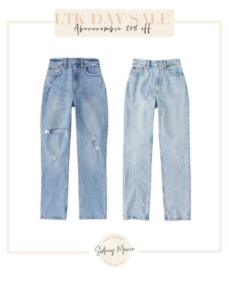 Abercrombie jeans and denim on sale for LTK day @liketoknow.it http://liketk.it/3hs2O #liketkit #LTKsalealert #LTKunder100