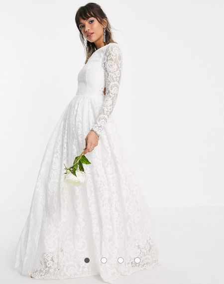 Looking for an affordable wedding dress? This white late dress from ASOS is perfect for a bride on a budget! Plus get it tailored and it will fit like a bespoke dress!   #LTKstyletip #LTKwedding #LTKfamily