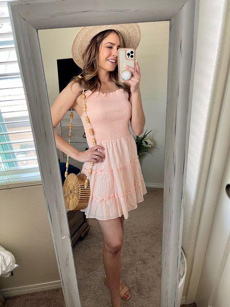 Pink target dress styled dressed up   http://liketk.it/3ePAW @liketoknow.it #liketkit #LTKunder50 #LTKshoecrush #LTKstyletip