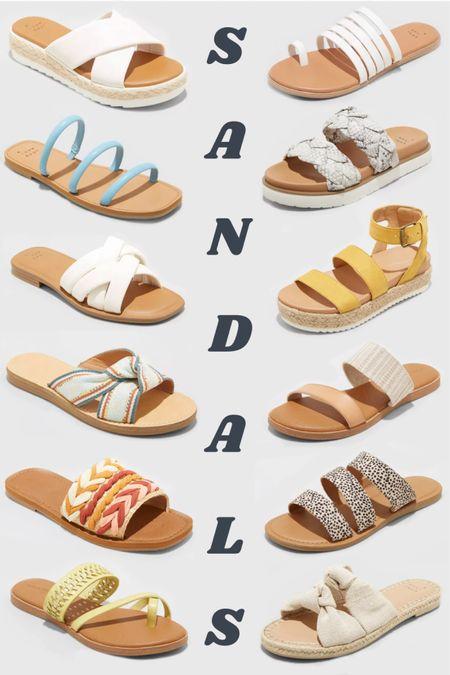 Boost your summer shoe game with these cute Target sandals! 😍 http://liketk.it/3dRKA #liketkit @liketoknow.it #LTKshoecrush #LTKstyletip #LTKunder50