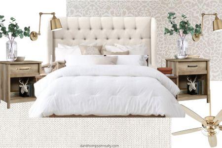 http://liketk.it/3iQK4 #liketkit @liketoknow.it master bedroom design #LTKhome