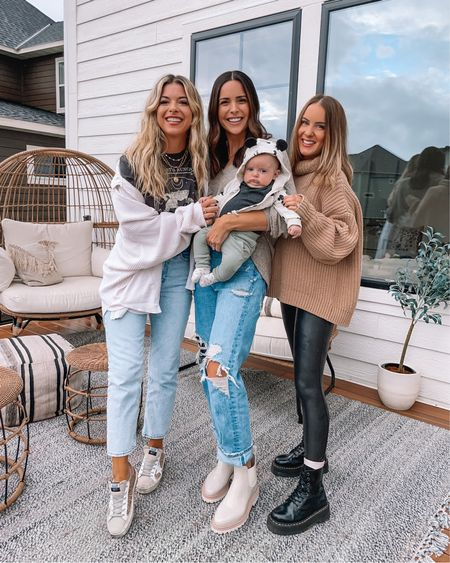 Fritz's chins are next level and they are my favorite 😂😍 Such a squish. Had my long lost friends over for lunch yesterday! 💕 Outfit details linked in my bio! #fritzhudson #mnbloggers   #LTKshoecrush #LTKSeasonal #LTKstyletip