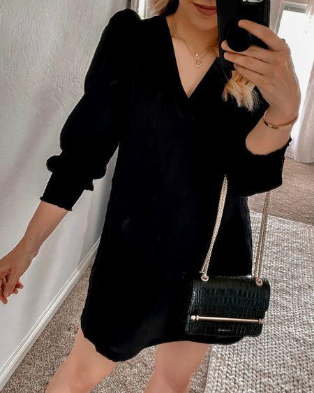 Nordstrom Black Dress, Nordstrom Fall Dress, BB Dakota Dress,     http://liketk.it/3o4Oc @liketoknow.it #liketkit  #LTKunder100 #LTKstyletip #LTKshoecrush