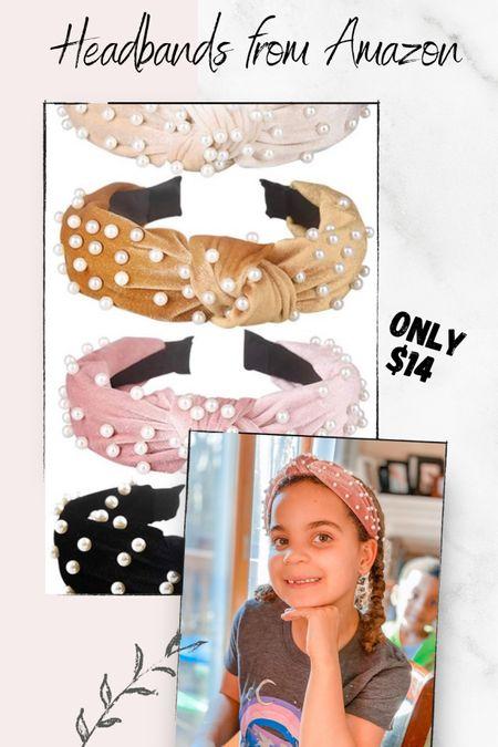 Pearl Headbands 💕 http://liketk.it/38mOG #liketkit @liketoknow.it #LTKbeauty #LTKkids #LTKunder50 Shop your screenshot of this pic with the LIKEtoKNOW.it shopping app