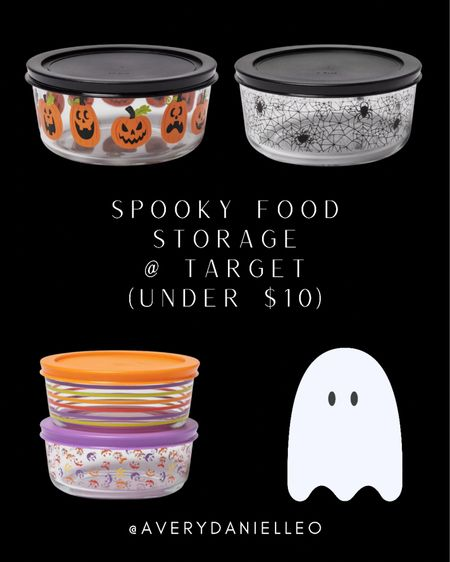 BOO! 👻 Make your leftover dinner a little more festive this year with glass Tupperware containers at Target!   #LTKfamily #LTKSeasonal #LTKhome