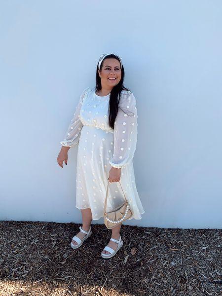 This dress is giving me modern BRIDGERTON vibes   #LTKunder50 #LTKcurves