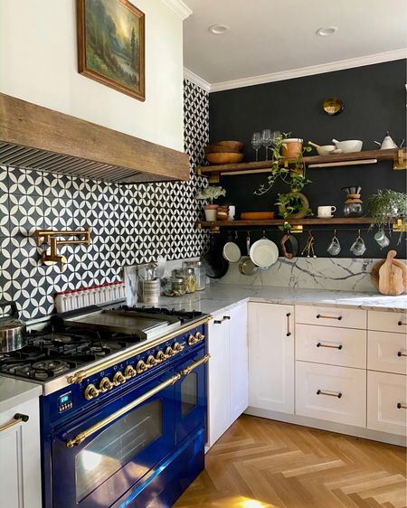 Shop this kitchen to get the same look as this vintage-filled space. Modern eclectic kitchen inspiration. Shop my daily looks by following me on the LIKEtoKNOW.it shopping app http://liketk.it/33aFg @liketoknow.it #liketkit #LTKhome #LTKunder100 @liketoknow.it.home