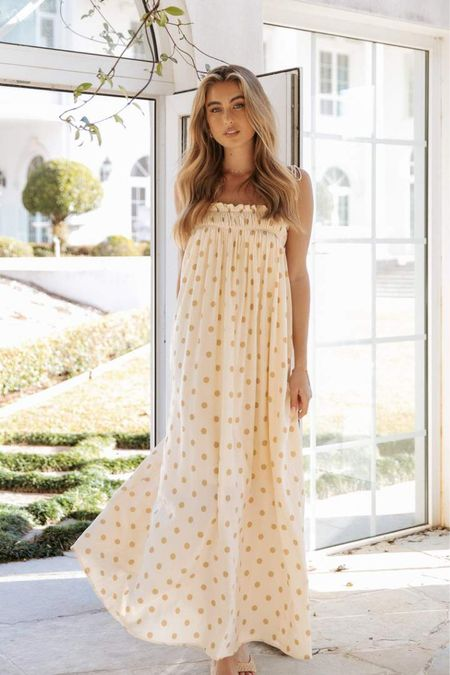I'm loving the cute summer dresses from Petal & Pup. These are some of my favorite styles and would look great dressed up or down. Love the versatility.❤️  #summeroutfit #maxis #vacationoutfit #longdresses #summerstyle  #LTKSeasonal #LTKunder100 #LTKitbag