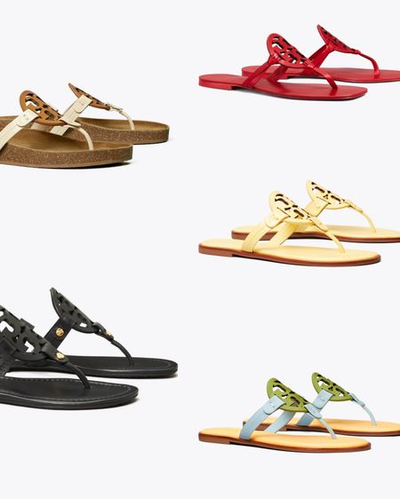 These @toryburch Miller Sandals are my go to sandals in the spring/winter. They are so lightweight and they make a statement. I have to grab a pair of the colorblocked Millers. I gasp when I saw them on the website. That's a tell tell sign that I need them. 🤣   Shop your screenshot of this pic with the LIKEtoKNOW.it shopping app   http://liketk.it/3fmWT #liketkit @liketoknow.it