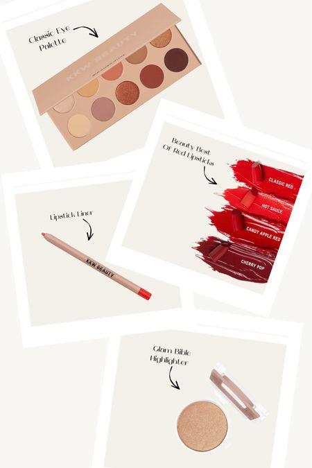 KKW Beauty Sale Alert. KKW BEAUTY Best Of Reds Lipstick. red Lipstick. Glam Highlighter. Classic Eye Shadow Palette. #ltksalealert #kkwbeauty  #LTKbeauty #LTKsalealert #LTKunder50