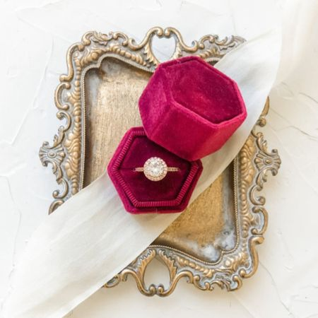 Red ring box by the StylingSource ❤️   http://liketk.it/3gsKH @liketoknow.it #liketkit #LTKwedding