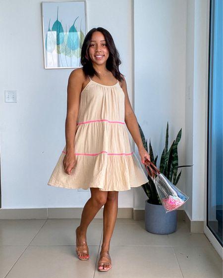 Pretty dress from Walmart http://liketk.it/3isiP @liketoknow.it #liketkit #LTKswim #LTKtravel #LTKunder50