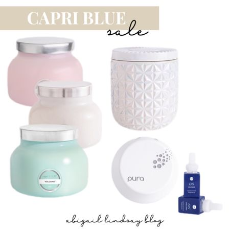 Capri Blue is 30% off right now with code SMILE30! Includes Pura Devices too! These are my favorite candles. The Volcano scent is the best in my opinion! Great Mother's Day gifts as well! http://liketk.it/3dprX @liketoknow.it #liketkit #LTKsalealert #LTKunder50 #LTKfamily @liketoknow.it.home Shop your screenshot of this pic with the LIKEtoKNOW.it shopping app