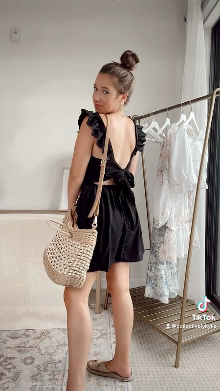 Four little black dresses all under $40 🥰❤️   LBD, affordable fashion, affordable dresses, summer dresses, fall dresses, bachelorette party, date night, event dress   #LTKunder50