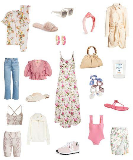 Twenty under $200 🌸🤍 #ootd #fashion #floral #jcrew #nordstrom #saks #summer #levis #farmrio #toryburch #varley #wishlist   #LTKswim #LTKunder100 #LTKsalealert