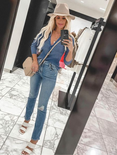 Entire look part of the NSALE! These Paige jeans are the BEST!!! A high-rise slim straight leg that will make your legs look crazy long! They run tts, I'm wearing a size 24. @liketoknow.it #liketkit http://liketk.it/3jwzI Shop my daily looks by following me on the LIKEtoKNOW.it shopping app  Follow my shop on the @shop.LTK app to shop this post and get my exclusive app-only content!  #liketkit  @shop.ltk http://liketk.it/3jwzI Follow my shop on the @shop.LTK app to shop this post and get my exclusive app-only content!  #liketkit #LTKunder100 #LTKshoecrush #LTKsalealert @shop.ltk http://liketk.it/3k6Lu   #LTKunder100 #LTKsalealert #LTKstyletip