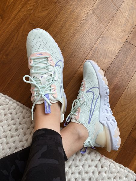 New Nike react vision sneakers - these run  true to size!     #LTKfit #LTKshoecrush